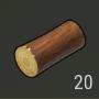 Leño de pino