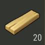 Tablón de pino