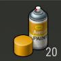 Objetos Pintura amarilla