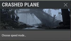 Crashed Plane old