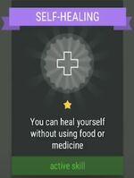 Active Skill- SELF-HEALING