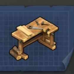 Плотницкий стол