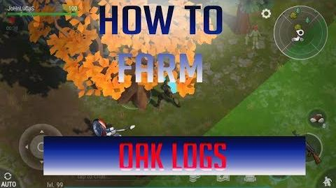 How_to_farm_Oak_logs_without_Chopper_Last_Day_On_Earth_Survival