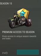 Season 15 Premium offer