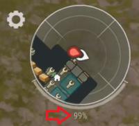 Exploration Experience meter1 arrow