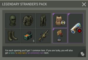 Season 12 Legendary Strander's Pack