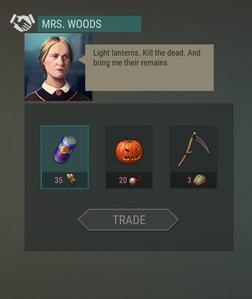 Mrs. Woods trade
