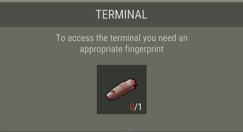 Cut Finger terminal