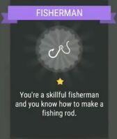 Passive skill- FISHERMAN