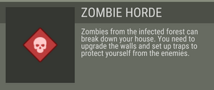 Zombie Horde before