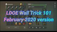 Wall Trick 101