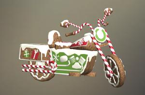 Gingerbread Bike