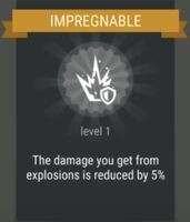 Passive skill- IMPREGNABLE