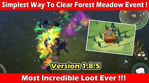 """Simple Way To Clear """"Forest Meadow"""" Event (1.8"""