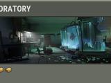 Ruined laboratory