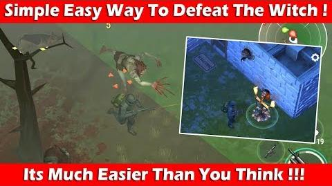 Easiest Way To Defeat The Witch At Infected Forest (1.8