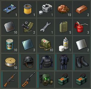First Floppy Coords Loot