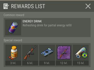 Lucas Rewards List