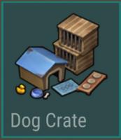 Dog Crate blueprint tile