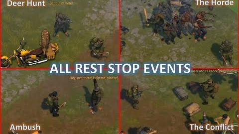 All Rest Stop events and some tips - Last Day on Earth