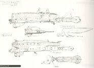 Last Exile Chronicle - Turan Transport Vanship