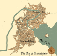 Map of Eastminister