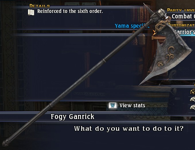 Warrior's Grandaxe