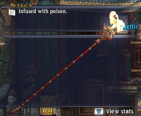 Poison Wand