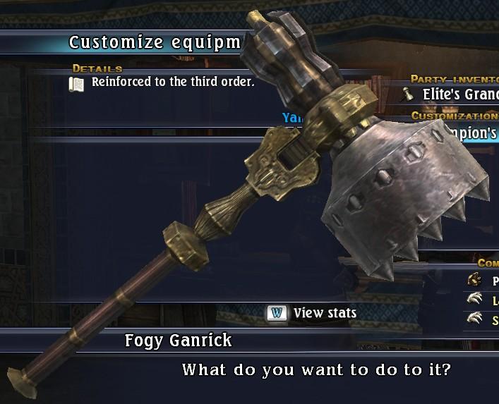 Champion's Grandhammer