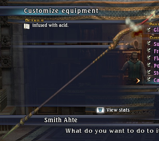 Caustic Glaive