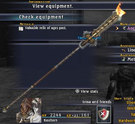Ancient Naginata