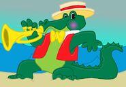 Alphonse the Spicy Gator Boi