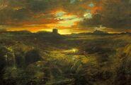 Thomas Moran Childe Roland to the Dark Tower Came 1859