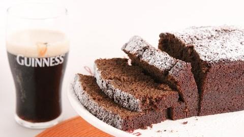 Learn to bake Guinness Gingerbread Loaf!