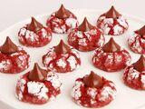 Red Velvet Crinkle Kisses