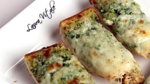 Learn to bake Cheesy Garlic Bread!