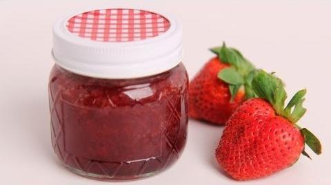 Homemade Strawberry Jam Recipe - Laura Vitale - Laura in the Kitchen Episode 386