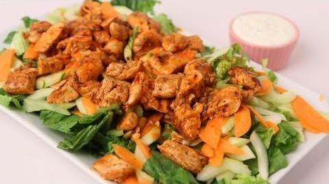 Learn_to_make_Buffalo_Chicken_Salad!