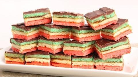 Learn to bake Italian Rainbow Cookies!