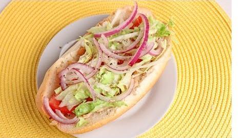 Chicken Cheesesteak Hoagies Recipe - Laura Vitale - Laura in the Kitchen Episode 920