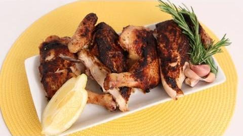Chicken Under a Brick Recipe - Laura Vitale - Laura in the Kitchen Episode 598