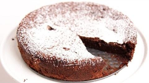 Learn to bake Flourless Chocolate Cake