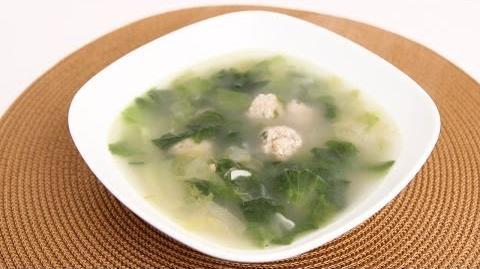 Homemade Escarole Soup Recipe - Laura Vitale - Laura in the Kitchen Episode 710
