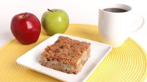 Learn to bake Apple Pie Coffee Cake!