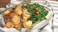 Parm Roasted Potatoes & Garlic Pine Nut Broccolini Episode 1210