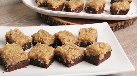 German Chocolate Cake Brownies Episode 1140