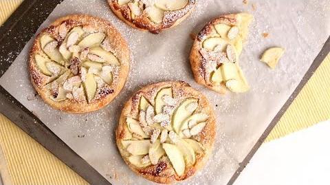 Learn to bake Almond Apple Tarts!