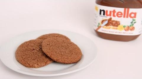 Learn to bake Nutella Cookies!