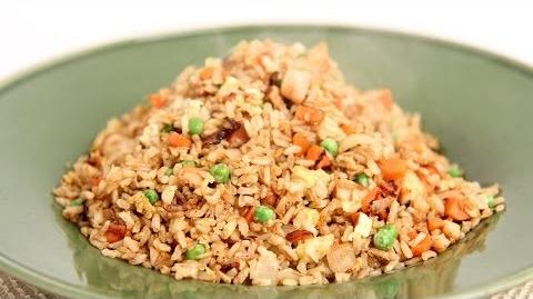 Learn_to_cook_Fried_Brown_Rice!