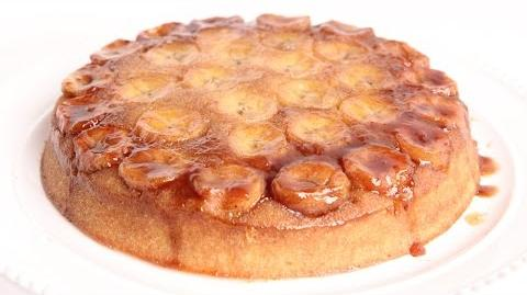 Learn to bake Bananas Foster Upside Down Cake!